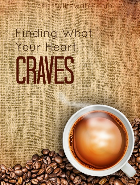 Finding What Your Heart Craves -christyfitzwater.com
