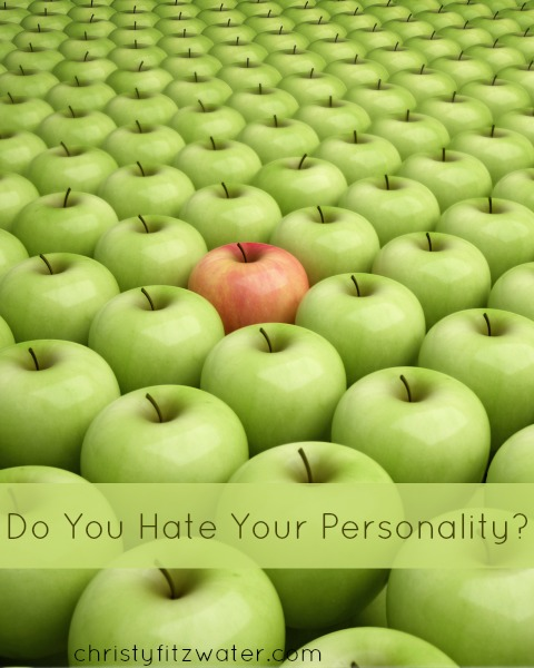 What if you don't like your personality?  -christyfitzwater.com