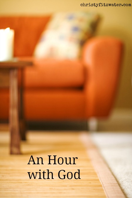 An Hour with God