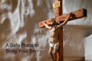A Safe Place to Bring Your Sin  -christyfitzwater.com