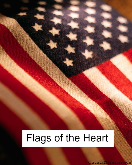 What flag shows your allegiance? -christyfitzwater.com
