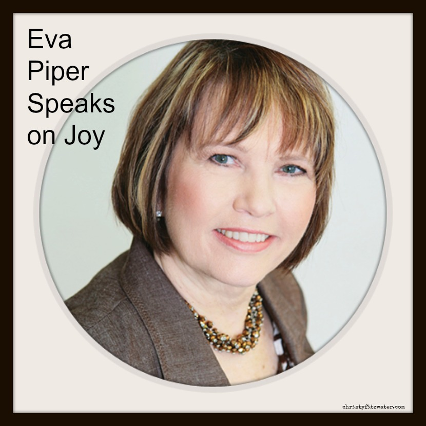 Eva Piper talks about finding joy in the dark days of Don's recovery.  -christyfitzwater.com