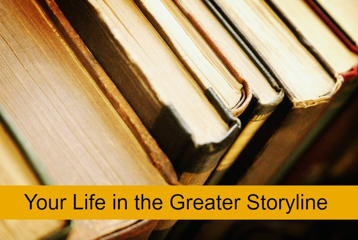 The plot of the greater story brings meaning to your life. -christyfitzwater.com
