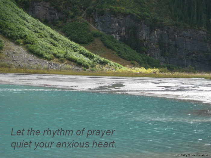 Prayer is the answer to your anxiety.  -christyfitzwater.com