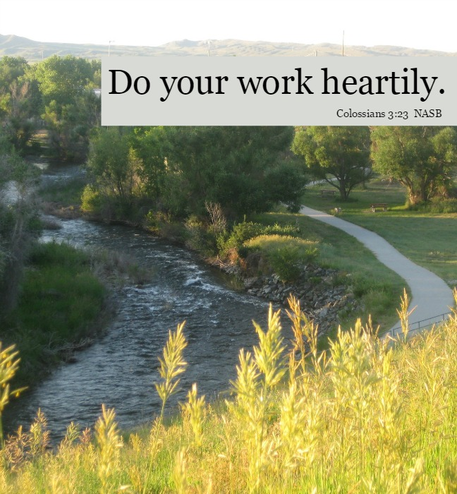 What quality of work will you do today? -christyfitzwater.com