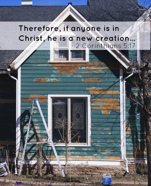 Does your soul need a renovation that you could never do on your own?  -christyfitzwater.com