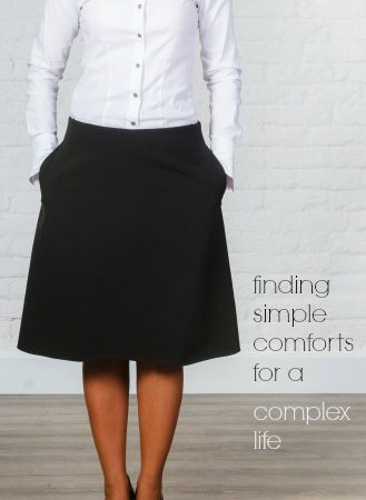 Finding Simple Comforts for A Complex Life -christyfitzwater.com